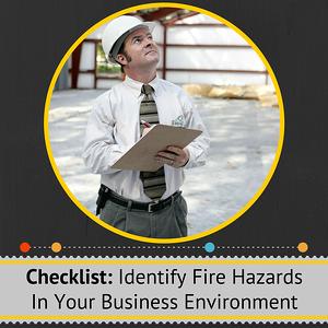 Checklist for Fire Hazards in Business