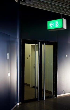 exit sign canada