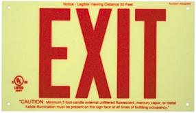 exit sign canada 2
