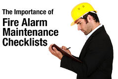 fire alarm maintenance checklist
