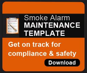 Rohen Smoke Alarm Maintenance Template