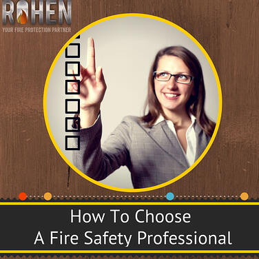 choosing a fire safety professional