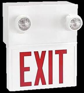 fire safety exit light